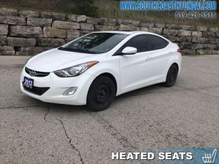Used 2013 Hyundai Elantra GLS at  - Sunroof - Proximity Key - $91.23 B/W for sale in Simcoe, ON