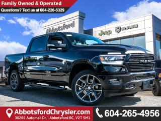 New 2019 RAM 1500 Sport - HEMI V8 - Sunroof - Leather Seats for sale in Abbotsford, BC