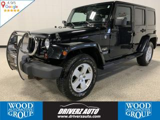 Used 2011 Jeep Wrangler Unlimited Sahara CLEAN CARFAX, HEATED SEATS for sale in Calgary, AB