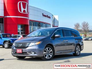 Used 2016 Honda Odyssey Touring for sale in Milton, ON
