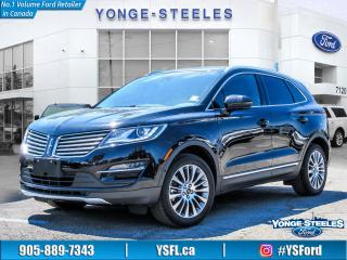 Used 2016 Lincoln MKC Reserve for sale in Thornhill, ON