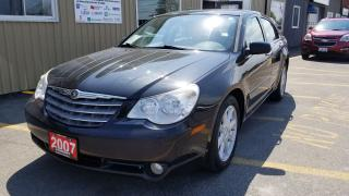 Used 2007 Chrysler Sebring Limited-LEATHER-SUNROOF-LOCAL TRADE-V6 for sale in Tilbury, ON