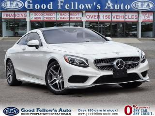 Used 2017 Mercedes-Benz S 550 AWD, REARVIEW CAMERA, PANORAMIC ROOF, HEATED SEATS for sale in Toronto, ON