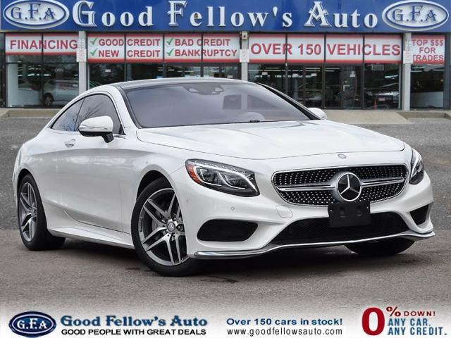 2017 Mercedes-Benz S 550 AWD, REARVIEW CAMERA, PANORAMIC ROOF, HEATED SEATS
