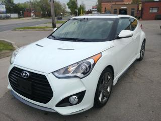 Used 2015 Hyundai Veloster Turbo w/Matte Grey for sale in North York, ON