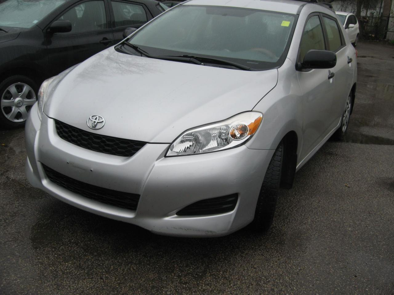 Photo of Silver 2010 Toyota Matrix
