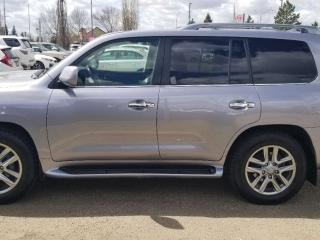 Used 2011 Lexus LX 570 LX570; LOADED, 7PASS, NAV, BACKUP CAM, SUNROOF, LEATHER AND MORE for sale in Edmonton, AB
