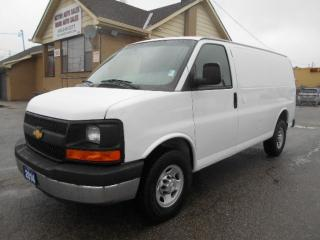 Used 2014 Chevrolet Express 2500 2500HD Cargo 4.8L Loaded Divider Certified 167Km for sale in Etobicoke, ON