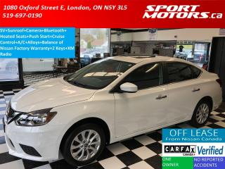 Used 2016 Nissan Sentra SV+Sunroof+Camera+Bluetooth+Heated Seats for sale in London, ON