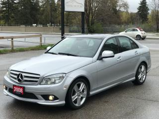 Used 2008 Mercedes-Benz C-Class C350 |PREMIUM PKG|AWD for sale in Cambridge, ON