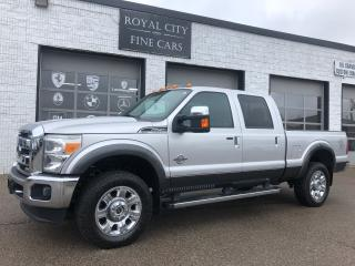 Used 2015 Ford F-250 Lariat One Owner Sunroof Navigation Heated Seats for sale in Guelph, ON