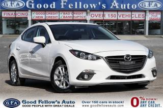 Used 2015 Mazda MAZDA3 GS MODEL, SKYACTIV, SUNROOF, REARVIEW CAMERA for sale in Toronto, ON