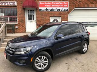 Used 2014 Volkswagen Tiguan Comfortline 2.0 Turbo 4Motion Htd Cloth Bluetooth for sale in Bowmanville, ON