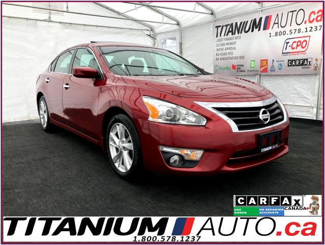2015 Nissan Altima SV+Camera+Sunroof+Heated Power Seats+Remote Start+