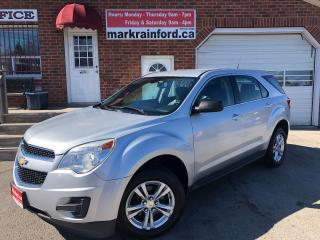 Used 2011 Chevrolet Equinox LS FWD 2.4 Auto Pwr Group for sale in Bowmanville, ON