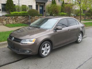 Used 2013 Volkswagen Jetta TDI, AUTOMATIC, SUNROOF, LOW KMS, NO ACCIDENTS for sale in Toronto, ON
