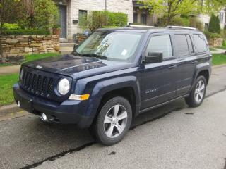 Used 2016 Jeep Patriot 4X4, HIGH ALTITUDE, NAVI, LEATHER, ROOF, CERTIFIED for sale in Toronto, ON