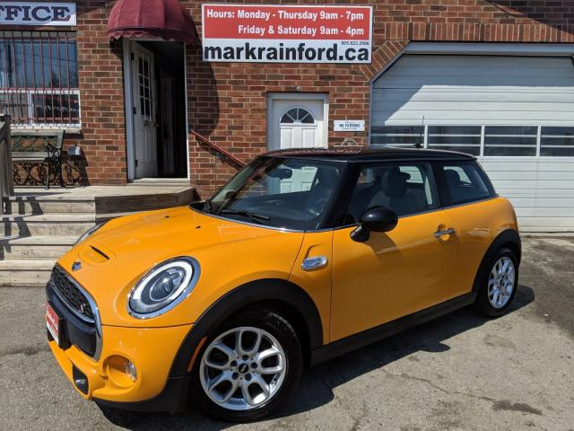 2015 MINI Cooper S 6 spd Manual Pano Roof Bluetooth Heated Leather
