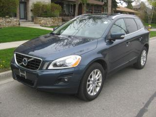 Used 2010 Volvo XC60 AWD,T6, CERTIFIED, NEW TIRES, NO ACCIDENTS, LOW KM for sale in Toronto, ON