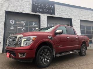 Used 2017 Nissan Titan Platinum Reserve Navi 360 Camera for sale in Guelph, ON