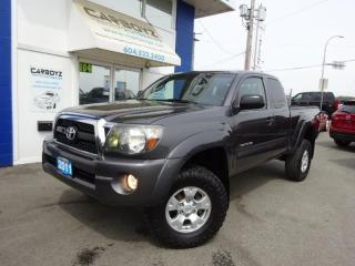 Used 2011 Toyota Tacoma TRD Off Road 4x4, Access Cab, LIFTED, Manual for sale in Langley, BC