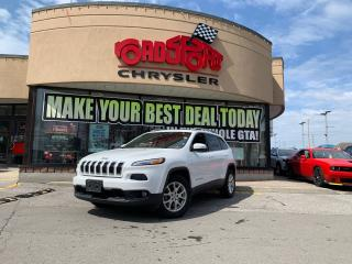 Used 2016 Jeep Cherokee North+V6+4X4+LEATHER+SUNROOF+LOADED for sale in Toronto, ON