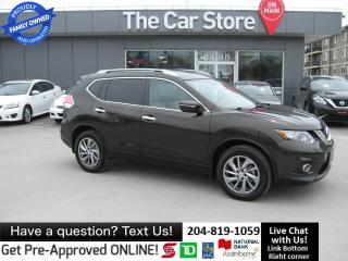 Used 2014 Nissan Rogue AWD SL LEATHER SUNROOF HTD SEAT BLUETOOTH BACKCAM for sale in Winnipeg, MB