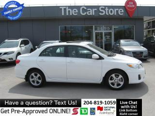 Used 2013 Toyota Corolla LE SUNROOF HTD SEAT BLUETOOTH, NEW TIRES!! for sale in Winnipeg, MB