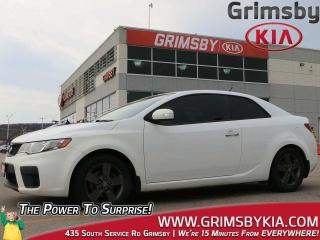 Used 2010 Kia Forte Koup 2.0L EX Sunroof| Bluetooth| Heat Seat for sale in Grimsby, ON