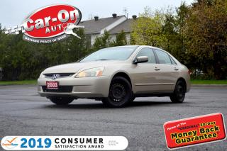 Used 2003 Honda Accord V6 AUTO A/C FULL PWR GRP for sale in Ottawa, ON