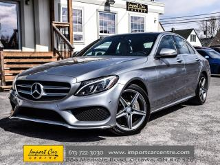 Used 2016 Mercedes-Benz C-Class C300 4MATIC PARK ASSIST PANO.ROOF NAVI WOW!! for sale in Ottawa, ON