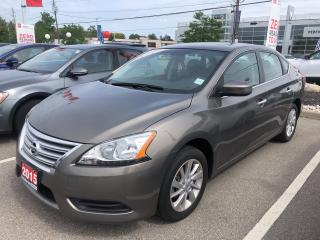 Used 2015 Nissan Sentra SV MOONROOF & NAV for sale in St. Catharines, ON