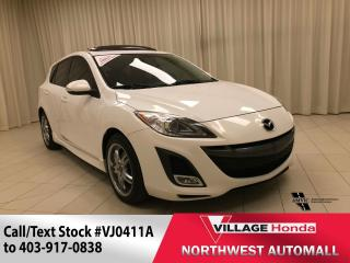 Used 2010 Mazda MAZDA3 Sport GT Leather & More! for sale in Calgary, AB