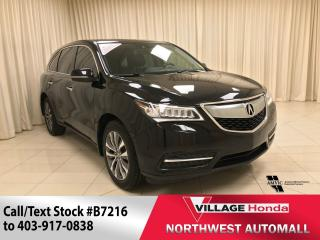 Used 2016 Acura MDX Navi SH-AWD for sale in Calgary, AB