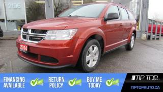Used 2014 Dodge Journey CVP ** Bluetooth, One Owner, Clean CarFax ** for sale in Bowmanville, ON