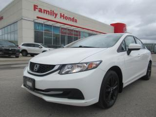 Used 2014 Honda Civic LX, FULLY SAFETY CERTIFIED! for sale in Brampton, ON