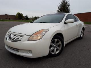 Used 2008 Nissan Altima 2dr Cpe I4 2.5 S for sale in Mississauga, ON