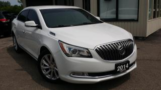 Used 2014 Buick LaCrosse Leather Package 2014 Buick LaCrosse Leather Package - LEATHER! NAV! BACK-UP CAM! REMOTE START! for sale in Kitchener, ON