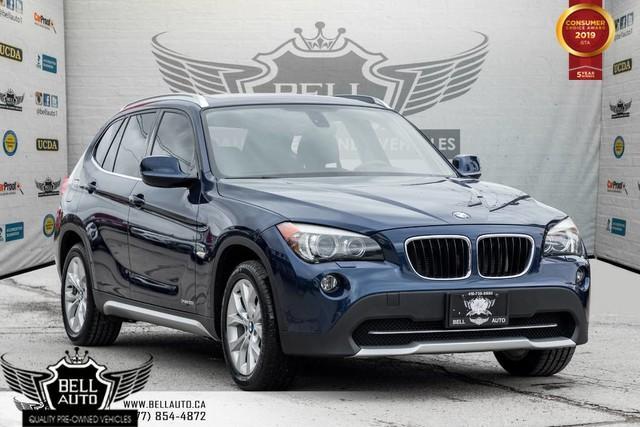 2012 BMW X1 28i, PANO ROOF, PUSH START, A/C, HEATED SEATS, USB