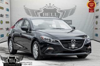 Used 2016 Mazda MAZDA3 GS, BLUETOOTH, BACK-UP CAM, USB, HEATED SEAT, A/C for sale in Toronto, ON