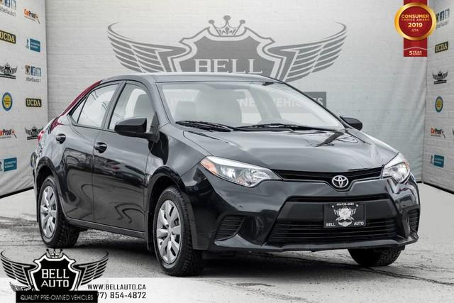 2015 Toyota Corolla LE, CRUISE CONTROL, A/C, TRACTION CONTROL, POWER MIRRORS
