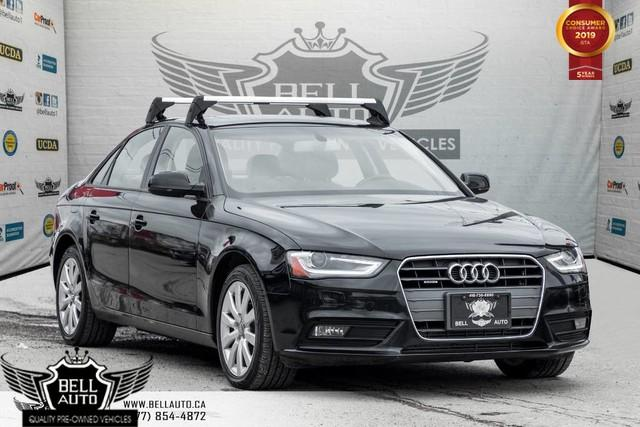2014 Audi A4 Komfort, SUNROOF, LEATHER, A/C, HEATED & PWR SEAT