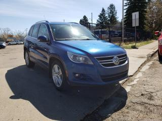 Used 2010 Volkswagen Tiguan SE-AWD-LEATHER-NO ACCIDENTS-LOW Monthly PAYMENTS!! for sale in Edmonton, AB