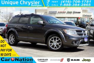 Used 2014 Dodge Journey R/T| AWD| 7-SEATER| NAV| DVD| SUNROOF for sale in Burlington, ON