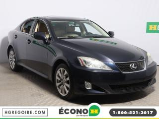 Used 2008 Lexus IS 250 AWD A/C TOIT CUIR for sale in St-Léonard, QC