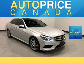 Used 2016 Mercedes-Benz E-Class NAVIGATION|PANOROOF|LEATHER for sale in Mississauga, ON