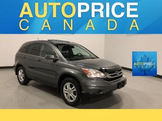 Used 2011 Honda CR-V EX-L MOONROOF|NAVIGATION|LEATHER for sale in Mississauga, ON