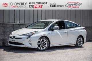 Used 2016 Toyota Prius TECHNOLOGIE, CUIR, GPS, TOIT OUVRANT for sale in Laval, QC