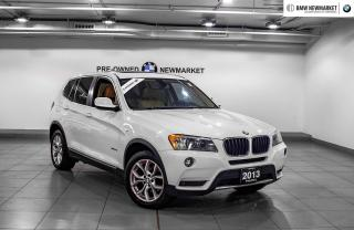 Used 2013 BMW X3 xDrive28i TECH PKG| PANO SUNROOF| REAR CAM| for sale in Newmarket, ON