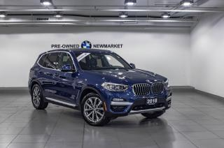 Used 2018 BMW X3 xDrive30i -ONE OWNER|NAV| for sale in Newmarket, ON